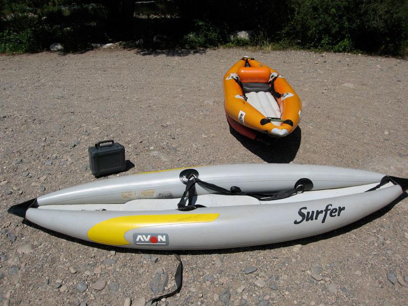 Avon Inflatable Kayak Mountain Buzz