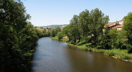 Allier towards Brioude