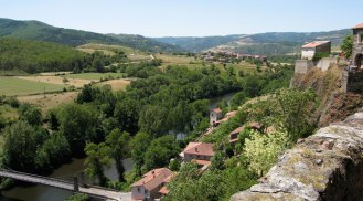View from the village castle - Allier?
