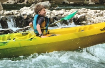 Kids will love the Ardeche
