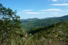 Southern Cevennes from near Barre