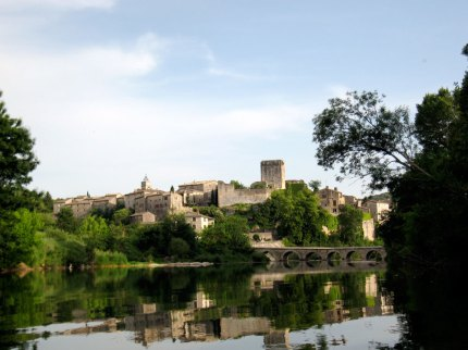 Montclus on the Ceze - just another lovely medieval village with camping.