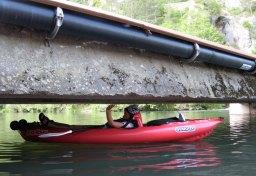 Submersible bridge on the Tarn I think