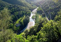 The Gardon in the Cevennes - our local river.