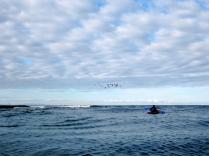Jon heads into the North Sea