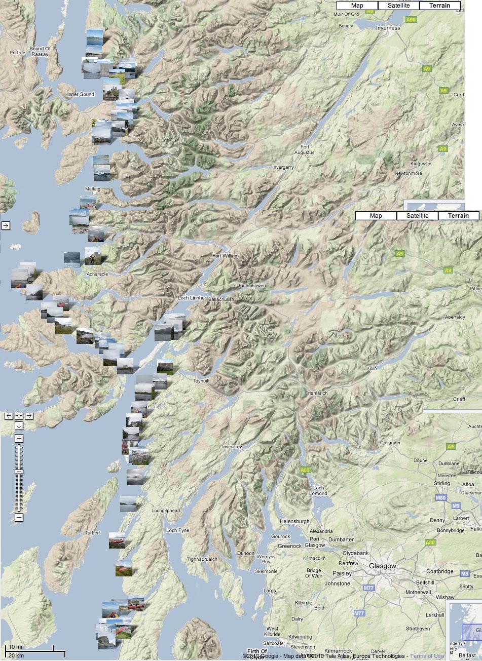Scottish Sea Kayak Trail Part 1  Gigha to Skye  Inflatable