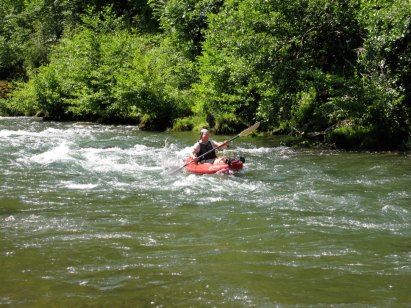 White water massif central