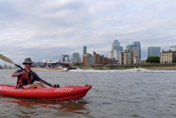 Kayaking through London | Inflatable Kayaks & Packrafts