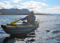 Mayday; I'm down half a paddle