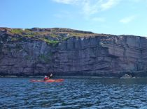 The cliffs at Rubha Cadail headland