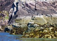 Weathered rocks