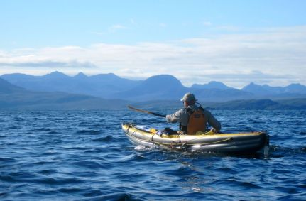 Torridon Hills in the background