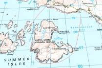 Tanera Mor kayak map
