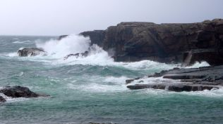 Stormy Reiff, end of the Coigach peninsula