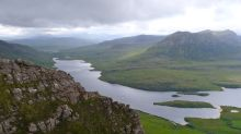 Loch Lurgainn and the road to Ullapool