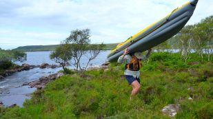 Portage to Loch Lurg