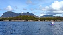 Towards Eilean Mor (Loch Sion)