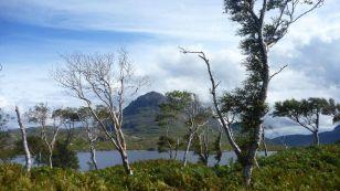 Eilean Mor summit (Loch Sion)