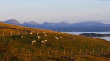 Torridon Hills at dusk