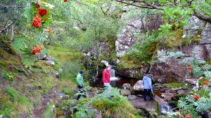 Coast path below Ben Mor