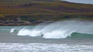 Good surf at Achnahaird