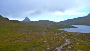 Back of Suilven (packrafting)