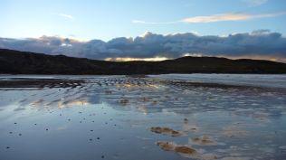 Storm foam on Achnahaird beach