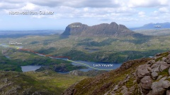 Northwest from Cul Mor