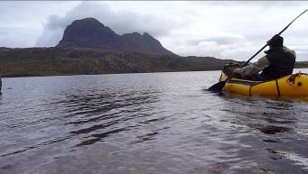 Onto Fionn Loch