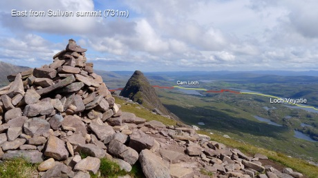 East from Suilven