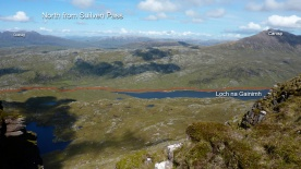North from Suilven saddle