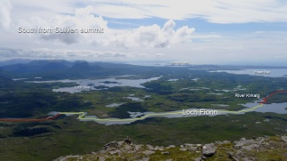 South from Suilven