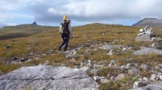 Leaving Cam Loch