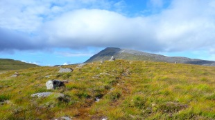 The path to Loch Fada