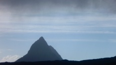 Shower over Suilven