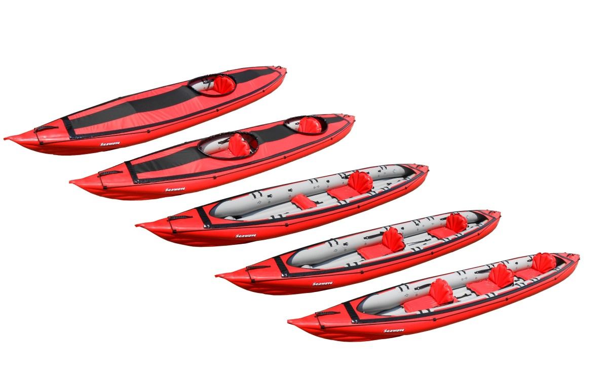 Gumotex seawave kayak preview bar inflatable kayaks packrafts - Test kayak gonflable ...