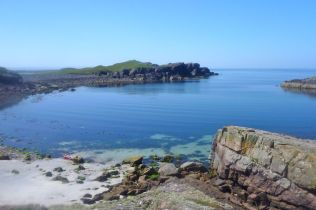 Camas Eilean Ghilais below