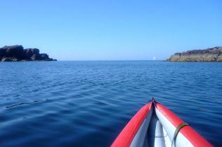 Leaving Camas Eilean Ghilais