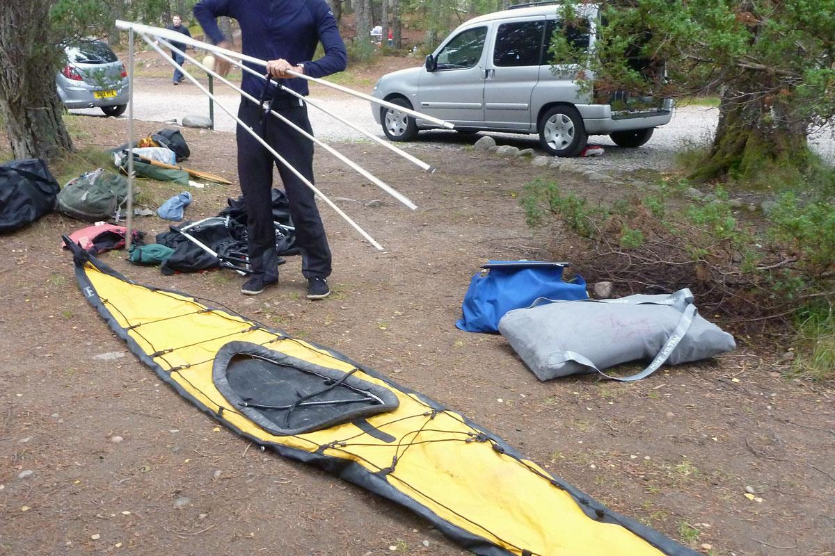 Feathercraft Aironaut IK | Inflatable Kayaks & Packrafts