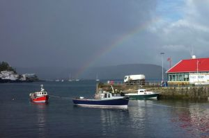 Oban; a ray of hope