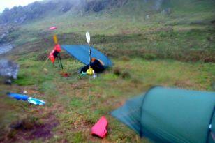Rainbound on Scarba