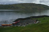 Lunch on Seil