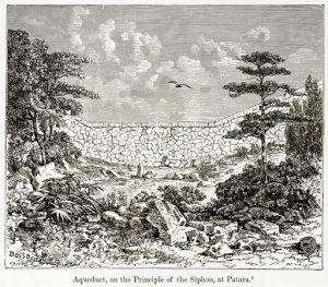 Aqueduct, on the Principle of the Siphon, at Patara