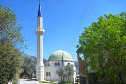 Mosque near Boga