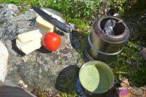 Trailside lunch