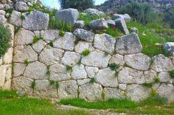 Machu Picchu like stonework