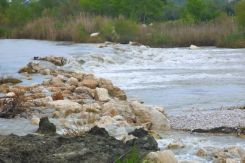 Weir on Xanthos river
