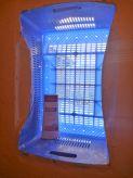 Ingenious fruit crate vented window
