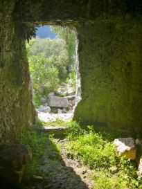 View from a tomb