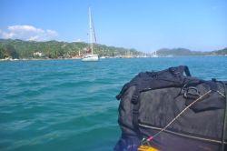 Approaching Uçagiz harbour